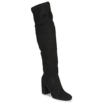 kengät Naiset Ylipolvensaappaat Jonak MILO Black
