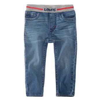 vaatteet Pojat Skinny-farkut Levi's PULL-ON SKINNY JEAN River