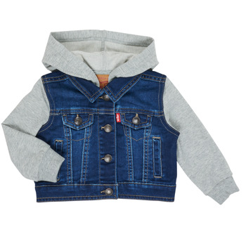 vaatteet Pojat Farkkutakki Levi's INDIGO JACKET Blue