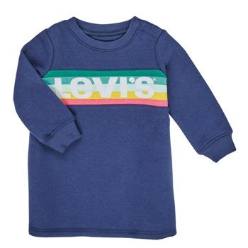 vaatteet Tytöt Lyhyt mekko Levi's SWEATSHIRT DRESS Blue