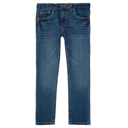vaatteet Pojat Slim-farkut Levi's 511 SLIM FIT JEAN Blue