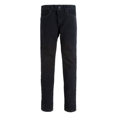 vaatteet Pojat Skinny-farkut Levi's 510 SKINNY FIT JEAN Black