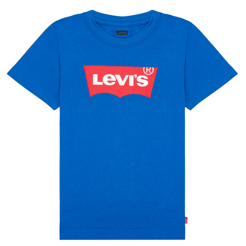 vaatteet Pojat Lyhythihainen t-paita Levi's BATWING TEE Blue