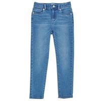 vaatteet Tytöt Skinny-farkut Levi's 711 SKINNY JEAN Sininen