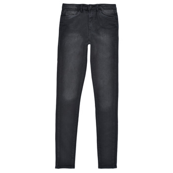 vaatteet Tytöt Skinny-farkut Levi's 720 HIGH RISE SUPER SKINNY Musta