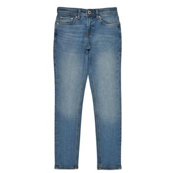 vaatteet Pojat Slim-farkut Jack & Jones JJILIAM Blue