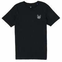 vaatteet Pojat Lyhythihainen t-paita Jack & Jones JJAARHUS TEE Black