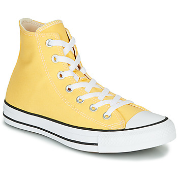kengät Naiset Korkeavartiset tennarit Converse CHUCK TAYLOR ALL STAR - SEASONAL COLOR Yellow