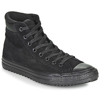 kengät Miehet Korkeavartiset tennarit Converse CHUCK TAYLOR ALL STAR PC BOOT Black / Black