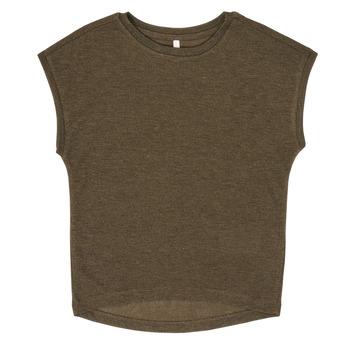 vaatteet Tytöt Lyhythihainen t-paita Only KONSILVERY Musta