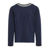 vaatteet Tytöt T-paidat pitkillä hihoilla Only KONATHEA Laivastonsininen
