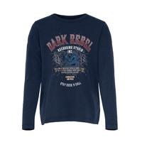 vaatteet Tytöt Lyhythihainen t-paita Only KONLUCY LIFE Laivastonsininen