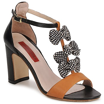 kengät Naiset Sandaalit ja avokkaat MySuelly NOE Black / Brown