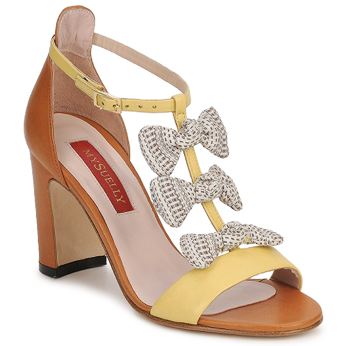 Sandaalit MySuelly NOE Yellow / Brown
