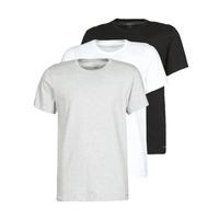 vaatteet Miehet Lyhythihainen t-paita Calvin Klein Jeans CREW NECK 3PACK Grey / Black / White