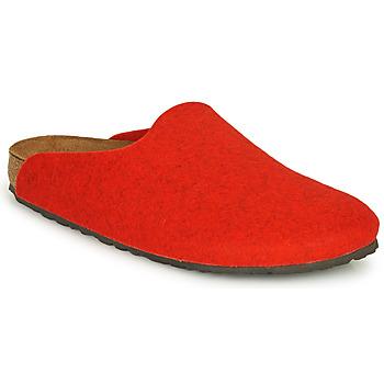 kengät Naiset Puukengät Birkenstock AMSTERDAM Red