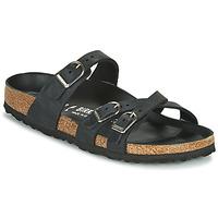 kengät Naiset Sandaalit Birkenstock FRANCA Musta