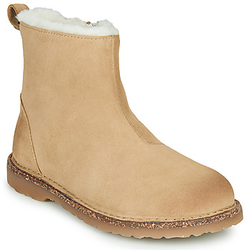 kengät Naiset Bootsit Birkenstock MELROSE SHEARLING Beige