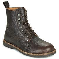 kengät Miehet Bootsit Birkenstock BRYSON Ruskea
