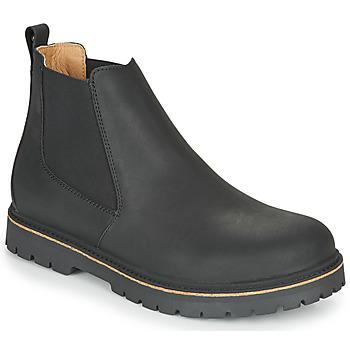 kengät Miehet Bootsit Birkenstock STALON Musta
