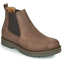 kengät Miehet Bootsit Birkenstock STALON Brown