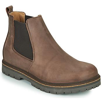 kengät Miehet Bootsit Birkenstock STALON Ruskea