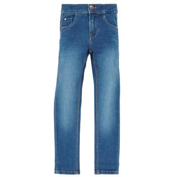 vaatteet Tytöt Slim-farkut Name it NKFPOLLY Blue