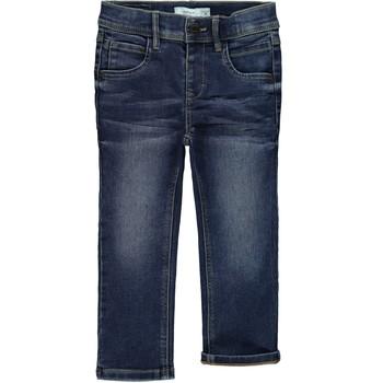 vaatteet Pojat Slim-farkut Name it NMFRANDI Sininen