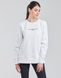 vaatteet Naiset Svetari Tommy Hilfiger TH ESS HILFIGER C-NK SWEATSHIRT Valkoinen