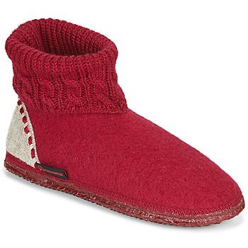 kengät Naiset Tossut Giesswein FREIBURG Punainen