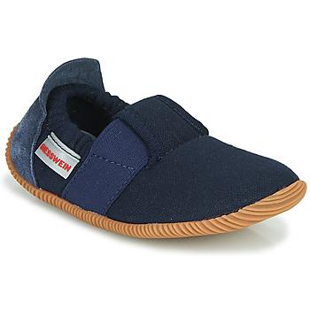 kengät Lapset Tossut Giesswein SOLL Laivastonsininen