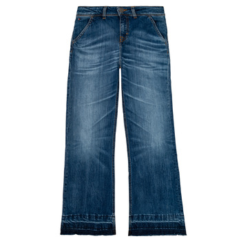 vaatteet Tytöt Bootcut-farkut Tommy Hilfiger KG0KG05199-1BJ Blue