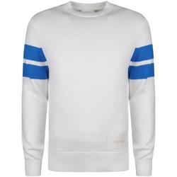 vaatteet Miehet Neulepusero Calvin Klein Jeans  Valkoinen