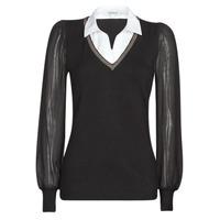 vaatteet Naiset Neulepusero Morgan MVANI Musta