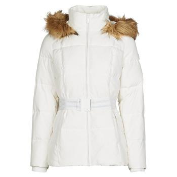 vaatteet Naiset Toppatakki Morgan GORAL Valkoinen