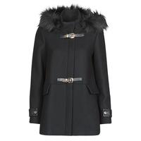 vaatteet Naiset Paksu takki Morgan GCALIS Black