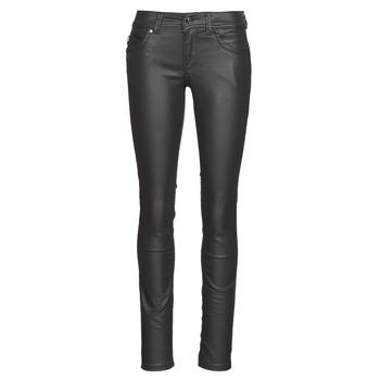 vaatteet Naiset Slim-farkut Pepe jeans NEW BROOKE Black