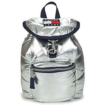 laukut Naiset Reput Tommy Jeans TJW HERITAGE SM PUFFER BACKPACK Hopea