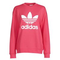 vaatteet Naiset Svetari adidas Originals TRF CREW SWEAT Pink