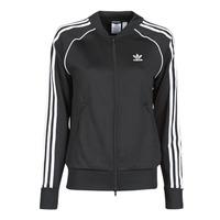 vaatteet Naiset Ulkoilutakki adidas Originals SST TRACKTOP PB Black