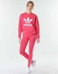 vaatteet Naiset Legginsit adidas Originals 3 STR TIGHT Vaaleanpunainen