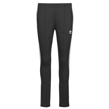 vaatteet Naiset Verryttelyhousut adidas Originals SST PANTS PB Musta