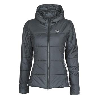 vaatteet Naiset Toppatakki adidas Originals SLIM JACKET Musta
