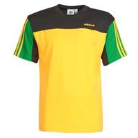 vaatteet Miehet Lyhythihainen t-paita adidas Originals CLASSICS SS TEE Kulta / Actif