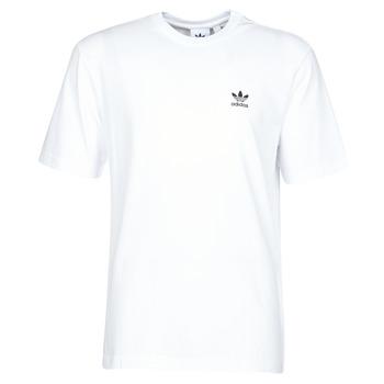 vaatteet Miehet Lyhythihainen t-paita adidas Originals B+F TREFOIL TEE White