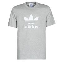 vaatteet Miehet Lyhythihainen t-paita adidas Originals TREFOIL T-SHIRT Kanerva / Grey