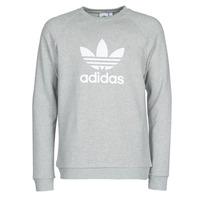 vaatteet Miehet Svetari adidas Originals TREFOIL CREW Grey