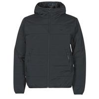 vaatteet Miehet Toppatakki adidas Originals LW ZT TRF HOODY Black