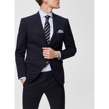 vaatteet Miehet Takit / Bleiserit Selected 16066442 Blu