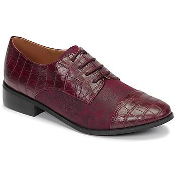 kengät Naiset Derby-kengät Moony Mood NOULESSE Viininpunainen